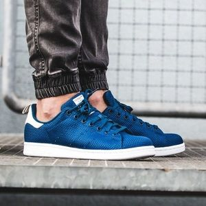 ADIDAS OG Stan Smith BLUE CK Shoes S75023 Size 7.5